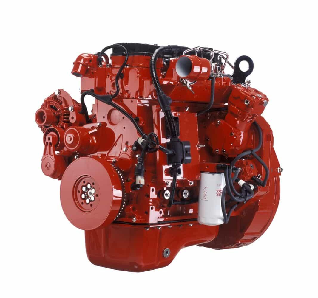 Двигатель CumminsISXe 535