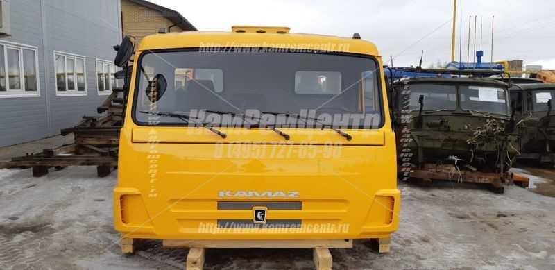 Капитальный ремонт кабины КАМАЗ со спальником