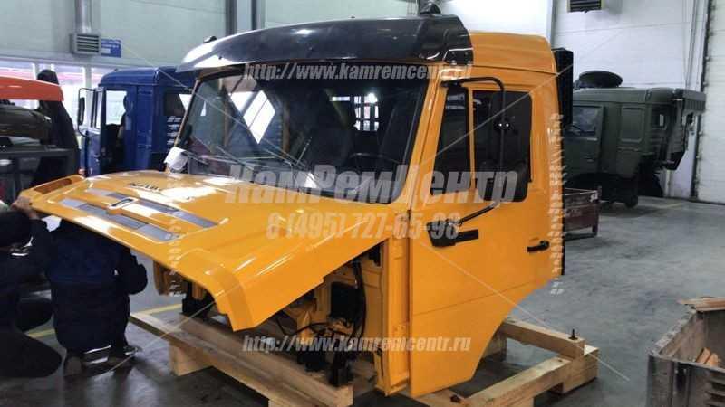 Капитальный ремонт кабины КАМАЗ без спальника