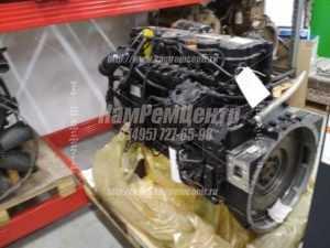 Двигатель Cummins 6isbe 210 после ремонта
