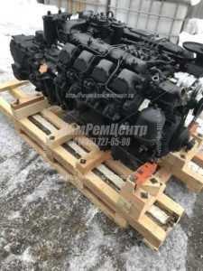 Силовой агрегат КАМАЗ 740.10-300 с КПП 15