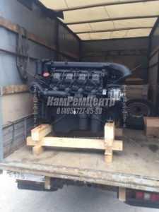 Двигатель КАМАЗ 740.55 300 Евро-3 грузим клиенту