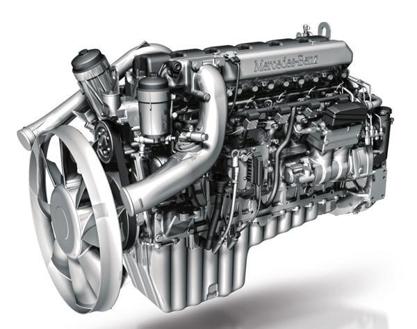 ДВИГАТЕЛЬ MERCEDES Daimler OM457LA